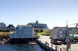 The Island Inn & its dockside cafe, The Barnacle