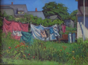 """""""Summer Laundry"""" by Alison Hill"""